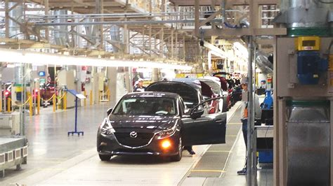 mazda manufacturer new manufacturing technology at mazda s mexico plant