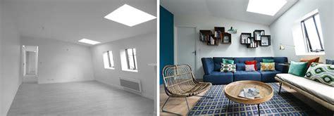 Decoration Interieur Salon Sejour by Avant Apr 232 S D 233 Coration D Un Salon Et S 233 Jour De 40m2