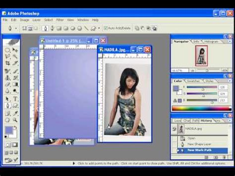 tutorial photoshop cs5 membuat poster tutorial photoshop dasar praktek membuat poster youtube