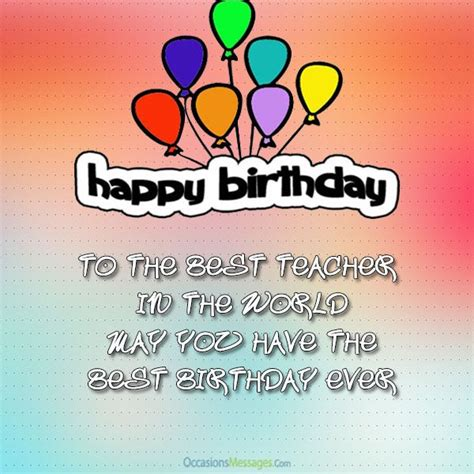 Happy Birthday Wishes To Lecturer Best 25 Birthday Wishes For Teacher Ideas On Pinterest