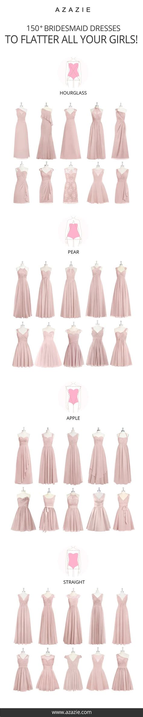 Bridesmaid Dresses For Different Sizes - 1000 ideas about bridesmaid dresses on