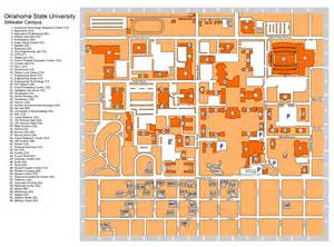 Oklahoma State University Map by Oklahoma University Campus Map Galleryhip Com The