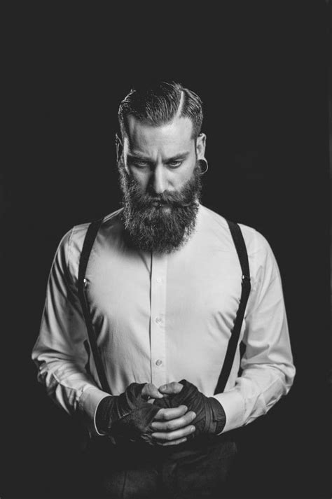 10 classic beard styles barbe hipster homme bretelles old style vintage