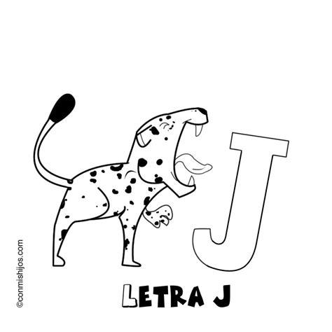 imagenes que empiecen con la letra j imprimir letra j dibujos para colorear