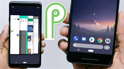 android multitasking look of android p s new navigation multitasking ui