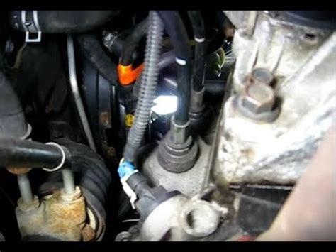 vehicle speed sensor location youtube
