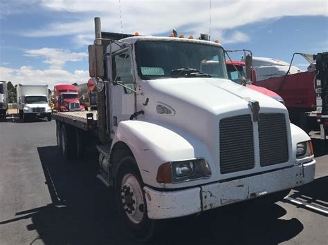 kenworth light duty trucks used flatbed trucks for sale in co penske used trucks