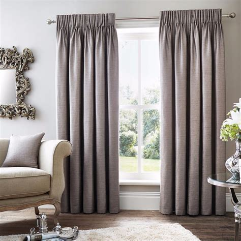 simple lined curtains linen style simple elegant plain pencil pleat top lined