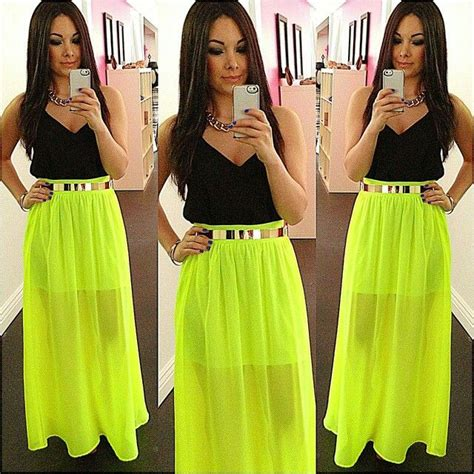 what to wear with a maxi skirt fabulous