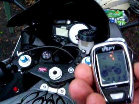spy  motorcycle alarm youtube