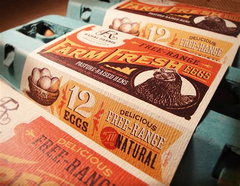 label design for eggs anderson design group blog new branding project rahal farms