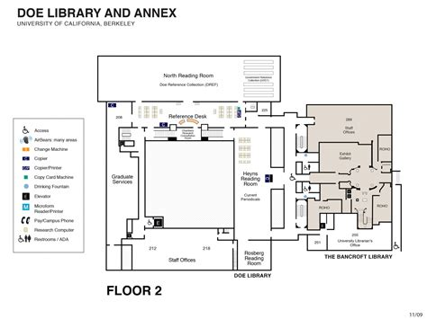 flor plan floor plans uc berkeley library