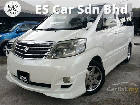 Cover Mobil F New Toyota Alphard 2004 toyota alphard 2004 g 3 0 in selangor automatic mpv white for rm 64 800 3547065 carlist my