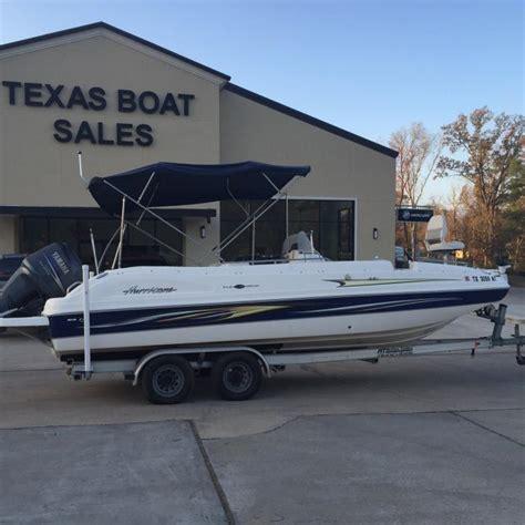 fun deck boats for sale hurricane fun deck 231 boats for sale