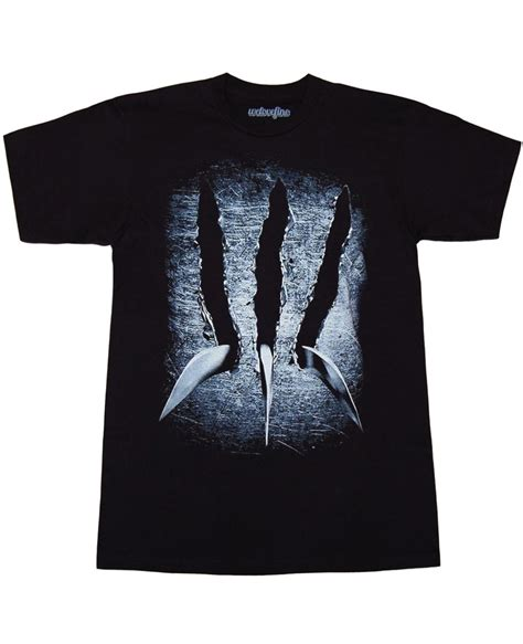 Tshirt X Worverine W wolverine claw t shirt