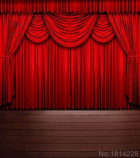 backdrop curtains for stage 3x5ft indoor red curtain stage vintage wooden floor