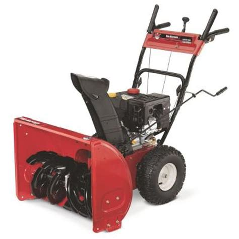 yard machines 26 in 208 cc two stage gas snow blower