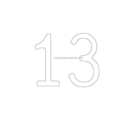 number 9 cake template cake free 13 number stencil freenumberstencils