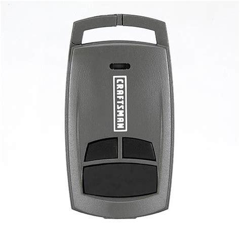 craftsman garage door opener remote craftsman 174 garage door opener 3 function compact key chain remote