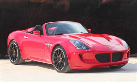 Pontiac Solstice V8 by Spain S Tauro V8 Spider Based On The Pontiac Solstice