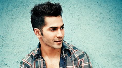 varun dhawan hair style i had two days off and i was like tearing my hair out