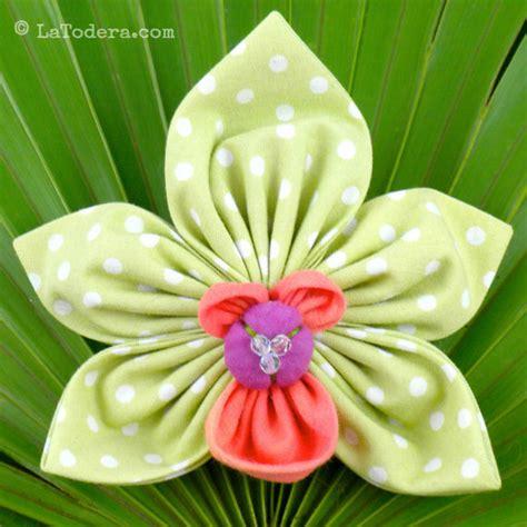 flower pattern dress fabric fabric flower pattern tutorial orchid brooch by latodera