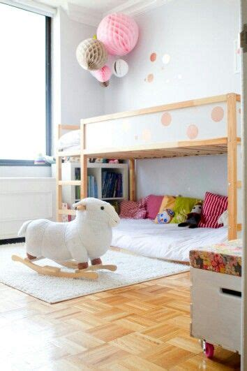 Bunk Bed Shelf Ikea Ikea Bunk Bed And Cube Shelf Room Pinterest