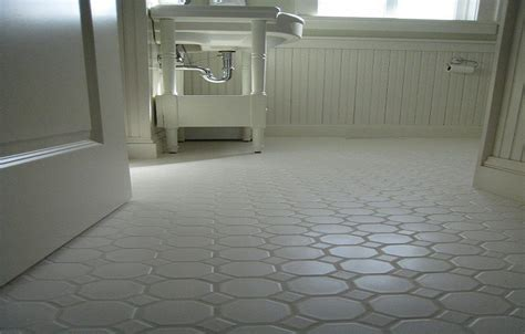 white hexagon concrete bathroom floor tile bathroom floor