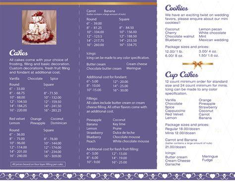 Wedding Cake Brochure by Brochure Design Impakt Print And Design