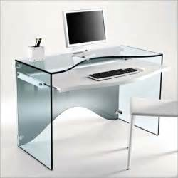 Glass Computer Desk Strata Glass Computer Desk And Or Dressing Desk From Tonelli