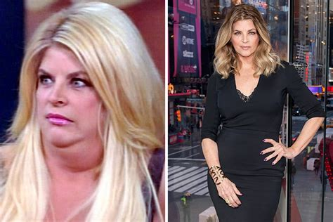 does kirstie alley have hair extensions 50 shocking celebrity weight loss transformations