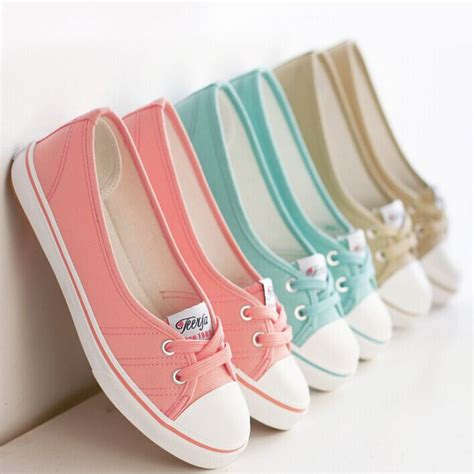 comfortable all match canvas shoes sneakers for