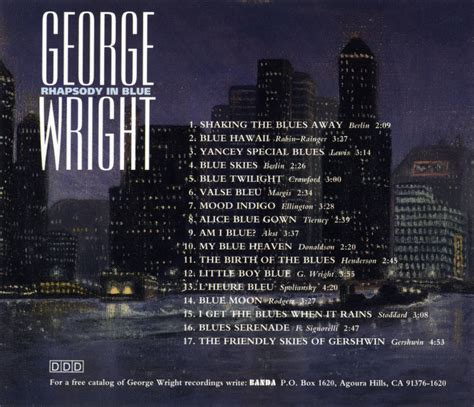 the genius of george wright books rhapsody in blue 0015