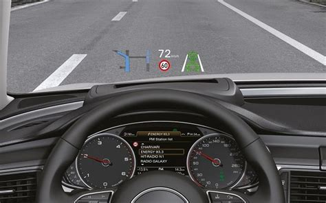 Audi A6 Display by Technika W Nowym Audi A6 Head Up Display