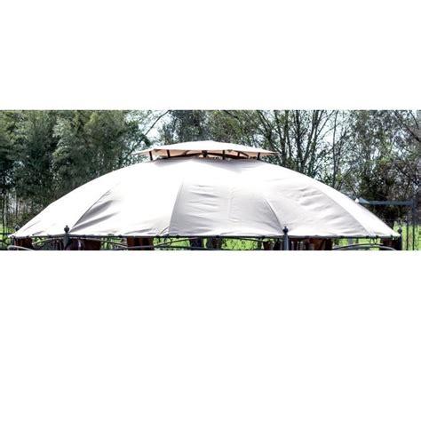 teli di ricambio per ombrelloni da giardino teli di ricambio gazebi esagonale a cupola beige