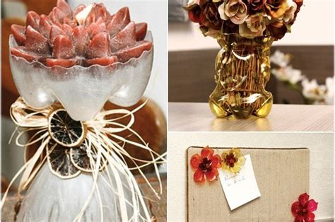 how to make home decor crafts 3 easy craft ideas for recycling plastic bottles in the home decor