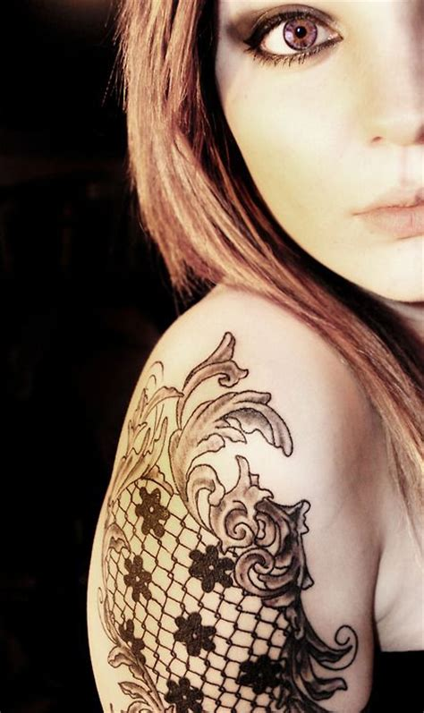 tattoo shops fargo nd best 25 lace flower tattoos ideas on black