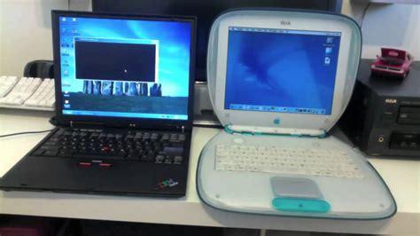 Laptop Apple Bm mac vs pc ibook g3 vs ibm thinkpad r31