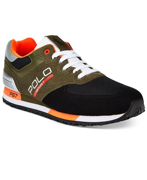 polo ralph mens sneakers polo ralph s slaton polo tech expedition