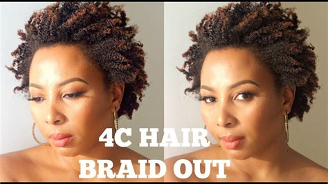braid out on natural hair thats short pinterest hairstyles for short 4c hair fade haircut