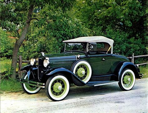 voiture ford 1931 ford model a deluxe roadster autos trucks i love