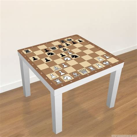 ikea hack une table basse version rose gold sticker meubles lack ikea echiquier stickers chess