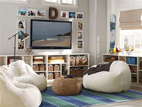 Tv Area Ideas Lounge Area The Bookshelves Lining Walls With