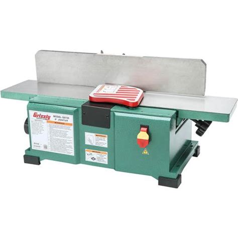 bench top jointer 6 quot x 28 quot benchtop jointer grizzly industrial