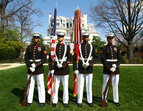 marine color guard marine corps respect on the playground colors