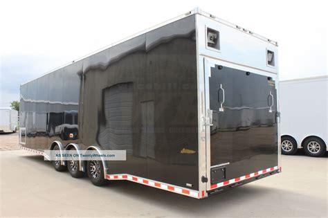 enclosed car hauler  living quarters  sale