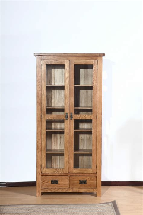 white library bookcase with doors 15 inspirations of oak library bookcase