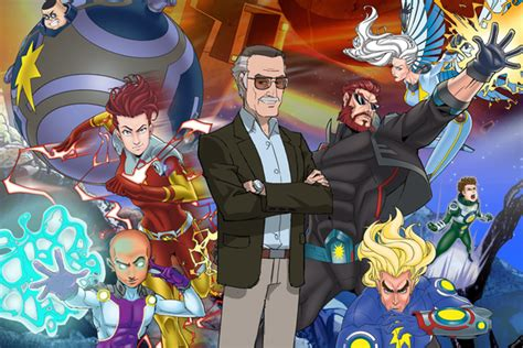 First clip from stan lee s mighty 7