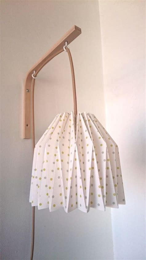 le de chevet murale 1789 le 224 poser abat jour opaque et pied chrom 233 origami