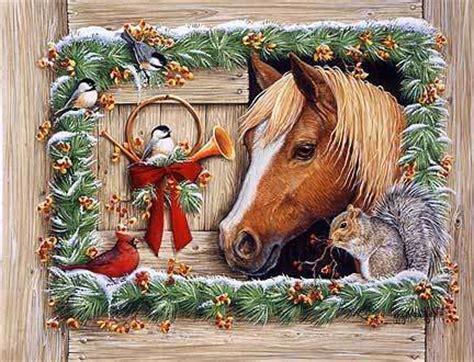 christmas wallpaper with horses free christmas desktop wallpapers horse desktop
